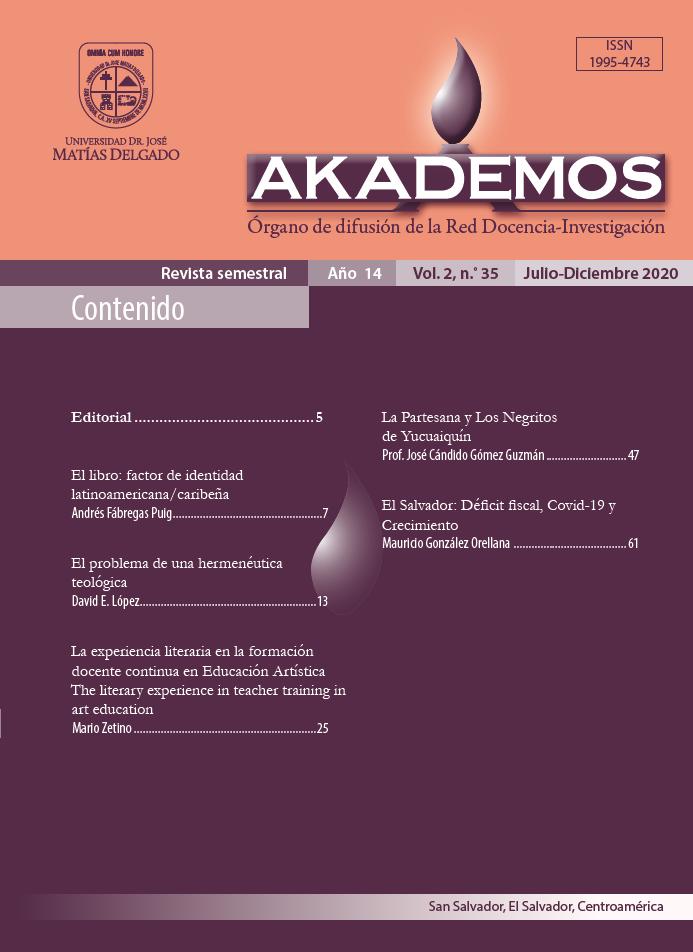 Ver Año 14, Vol. 2, N° 35, Julio - Diciembre 2020